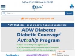 ADW Diabetes Promo Codes August 2018