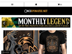 Once Upon a Tee Coupon Codes August 2018