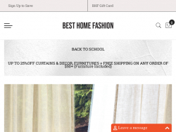 Best Home Fashion Coupon Codes August 2018