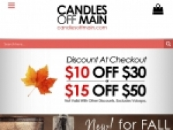 Candles Off Main Coupons