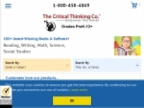 Up To 95% OFF Sale Items At The Critical Thinking Company
