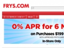 Up To 50% OFF W/ Email Sign Up + FREE Shipping At Fry's