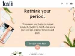 Kali Boxes Coupon Codes August 2018
