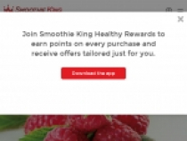 FREE Smoothies For Joining Smoothie King Healthy Rewards