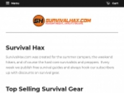 Survival Hax Coupons August 2018