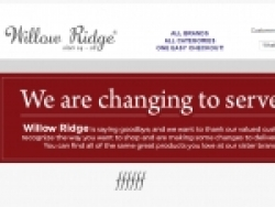 Willow Ridge Discount Code May 2019