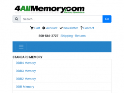 4AllMemory Discount Code August 2018