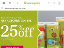 AccuQuilt Coupon Codes September 2018
