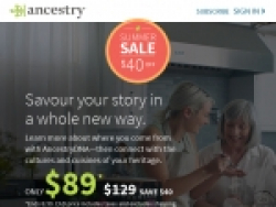 Ancestry.com Coupons