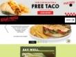 FREE Taco For Joining Baja Fresh Club