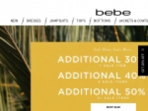 Extra 30% OFF Select Sales At Bebe