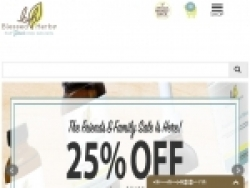 Blessed Herbs Discount Code September 2018