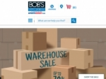 Up To 70% OFF on Sale Items At Bob's Stores