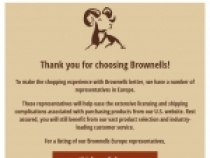 FREE Shipping Sitewide with Brownells Edge Membership