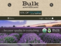Up To 50% OFF On Clearance Items at Bulk Apothecary