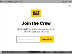 Cat Footwear Discount Codes August 2018