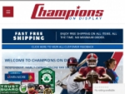 Champions On Display Coupons