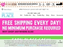 FREE Canada Shipping Sitewide At The Children's Place Canada