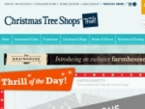 Up To $10 OFF Orders Over $50 W/ Email Sign Up At Christmas Tree Shops
