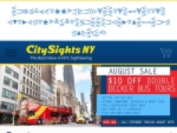 City Sights NY Promo Code August 2018