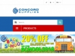 Concord Supplies Coupon Codes August 2018
