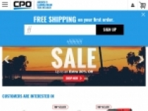 Up To $100 OFF Select Items At CPO