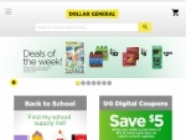 Up To 60% OFF Sale Items At Dollar General