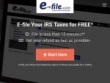 FREE Tax Filing And Returns At E-file