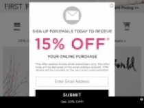 15% OFF Online Order When You Sign Up At Evine