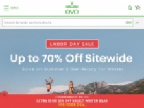 Up to 50% OFF Sitewide Deals + FREE Shipping At EVO