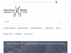 Harrison Blake Apparel Coupon Codes August 2018