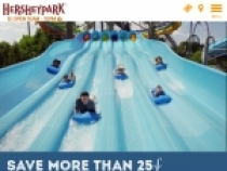 Buy 2 Ticket Get 1 FREE At Hershey Park