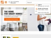 Home Depot $5 OFF $50+ Purchase With Sign Up