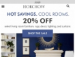 20% OFF Your First Purchase With Email Sign Up At Horchow