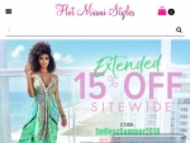 Up To 60% OFF Sale + FREE Shipping At Hot Miami Styles