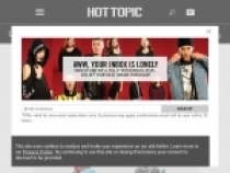 Get $5 Reward for Every 100 Points Earned at Hot Topic