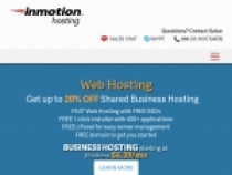 Up To 50%  OFF Premium Web Hosting For Students At InMotion Hosting