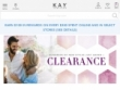 $25 OFF $99+ With Email Sign-Up At Kay Jewelers