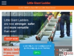 Little Giant Ladder Promo Codes August 2018