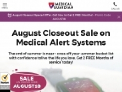 Medical Guardian Coupon Codes August 2018