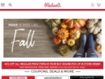 FREE Shipping On Orders Over $49 At Michaels