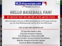 Up To 10% OFF W/ Email Sign Up At MLB Shop