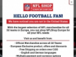 Sign Up & Get 10% OFF At NFL Shop