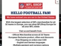 10% OFF W/ Email Signup At NFL Shop