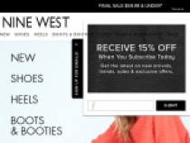Up To 15% OFF Your Orders W/ Subscription At Nine West