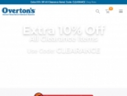 Overtons Coupons