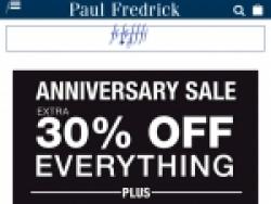 Paul Fredrick Promo Codes August 2018