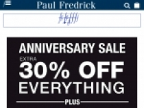 Gift Certificates For $10 – $500 At Paul Fredrick