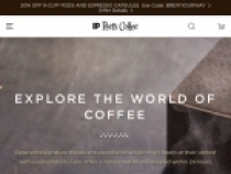 10% OFF + FREE Shipping On 1st Order At Peets