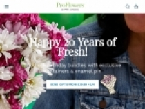Up To $5 Cash Back On Orders Over $49 At ProFlowers